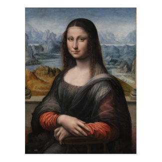 """Gioconda """"of the Prado Museum"""" - da Vinci (1510-15 Postcard"""