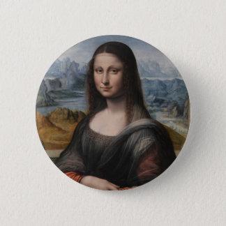 """Gioconda """"of the Prado Museum"""" - da Vinci Button"""