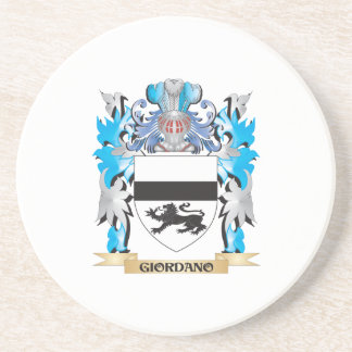 Giordano Coat of Arms - Family Crest Drink Coaster