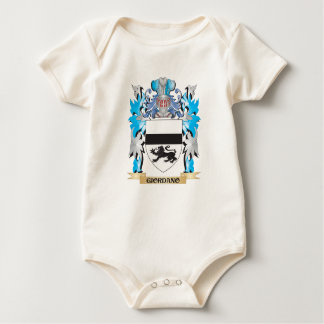 Giordano Coat of Arms - Family Crest Baby Creeper