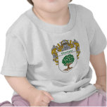 Giordano Coat of Arms (Mantled) T-shirts