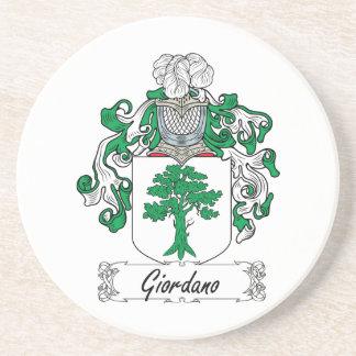 Giordano Family Crest Drink Coaster