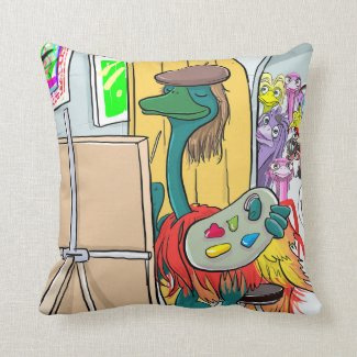Giorgio Art Throw Pillow