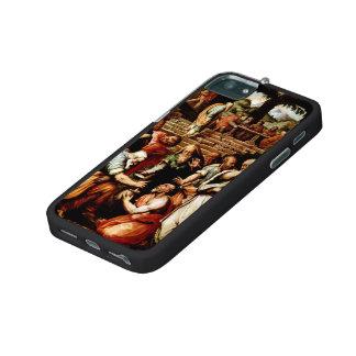 Giorgio Vasari-The Prophet Elisha cleansing Naaman Case For iPhone 5