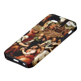Giorgio Vasari-The Prophet Elisha cleansing Naaman iPhone 5 Cover