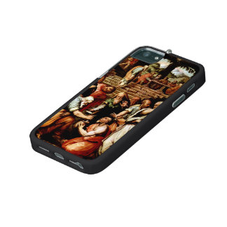 Giorgio Vasari-The Prophet Elisha cleansing Naaman iPhone 5 Cases