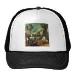 Giorgione la tempestad gorros bordados