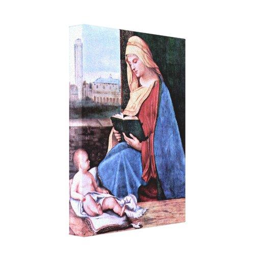 Giorgione - lectura de Madonna Lona Envuelta Para Galerías