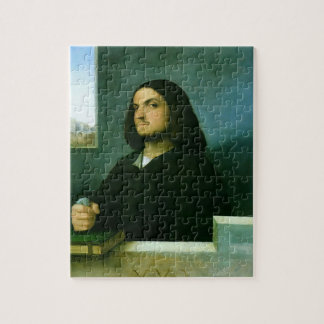 Giorgione-  Portrait of a Venetian Gentleman Jigsaw Puzzles