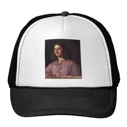 Giorgione- Portrait of young man Trucker Hats