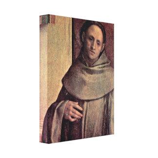 Giorgione - St Francis Stretched Canvas Print