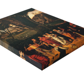 Giorgione- The Judgement of Solomon Gallery Wrapped Canvas