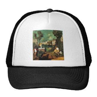 Giorgione The Tempest Trucker Hat