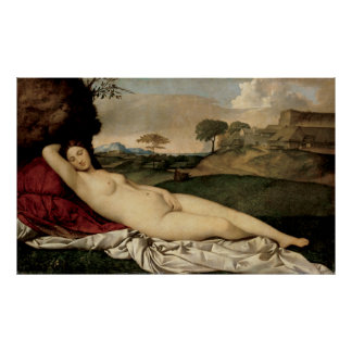 Giorgione's Sleeping Venus Poster