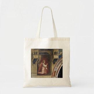 Giotto: Anuncio: El ángel Gabriel enviado por dios Bolsa