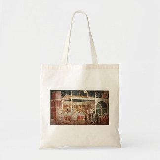 Giotto: Banquete de Herod Bolsa Lienzo