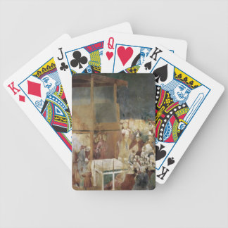 Giotto: Canonization of St Francis Poker Cards