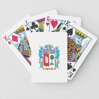 Giotto Coat of Arms - Family Crest Bicycle Poker Deck