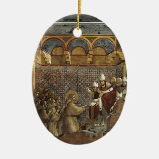 Giotto: Confirmation of the Rule Christmas Tree Ornament