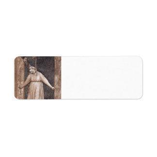 Giotto: Desesperación Etiqueta De Remite