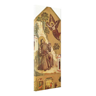 Giotto di Bondone - Engagement of St Francis Canvas Print