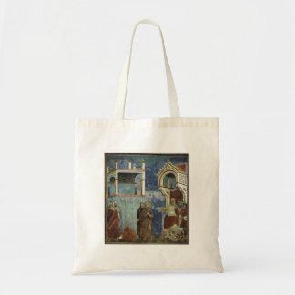 Giotto: El ensayo por el fuego Bolsas Lienzo