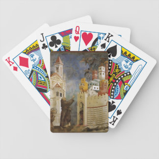 Giotto: Exorcism of the Demons at Arezzo Bicycle Card Decks