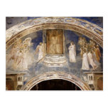 Giotto: God Sends Gabriel to the Virgin Postcards
