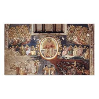 Giotto: Juicio pasado Tarjetas De Visita