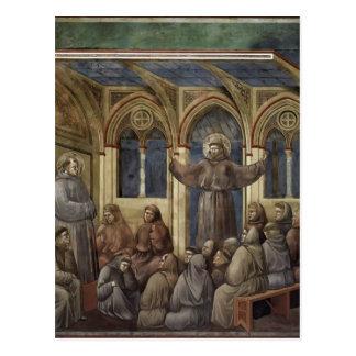Giotto: La aparición en la casa del capítulo en Ar Tarjeta Postal