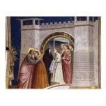 Giotto: La reunión en el Golden Gate Tarjeta Postal