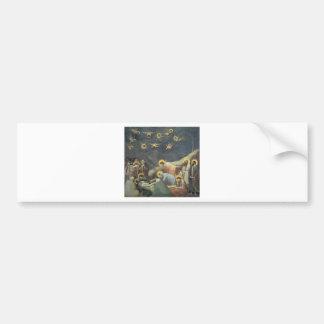 Giotto Lamentation Of Christ Car Bumper Sticker