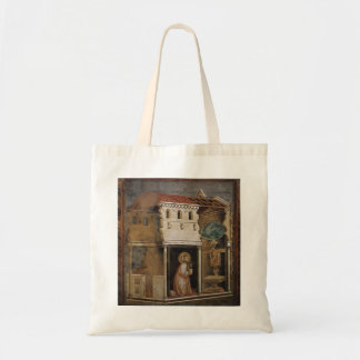 Giotto: Milagro del crucifijo Bolsas Lienzo