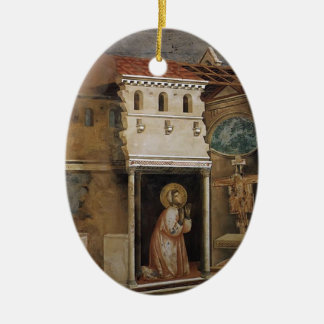 Giotto: Miracle of the Crucifix Christmas Tree Ornaments