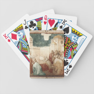 Giotto: Raising of Drusiana Bicycle Card Deck