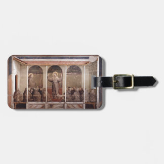 Giotto:St. Francis Appears to St. Anthony in Arles Luggage Tag