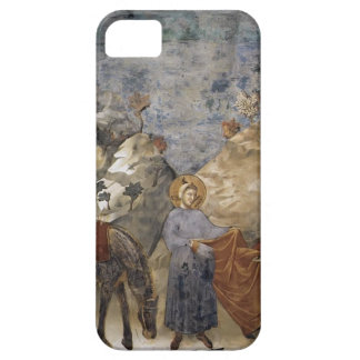 Giotto:St. Francis Giving his Mantle to a Poor Man iPhone 5 Cases