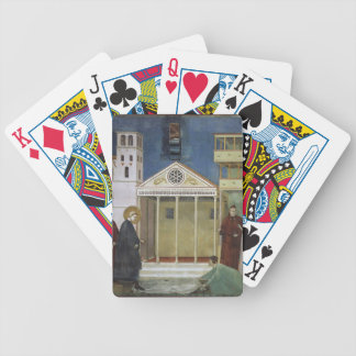 Giotto: St. Francis Honoured by a Simple Man Bicycle Poker Deck