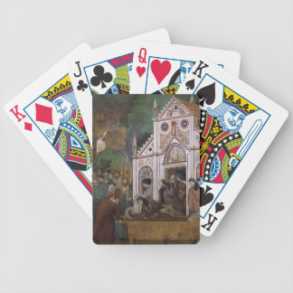 Giotto: St. Francis Mourned by St. Clare Bicycle Card Deck
