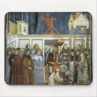 Giotto St Francis of Assisi Preparing the Crib Mouse Pads
