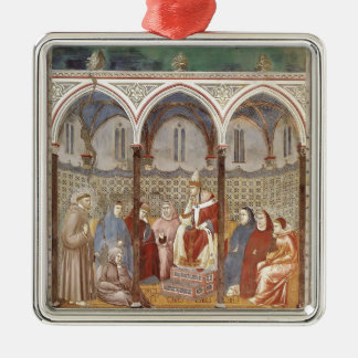Giotto: St. Francis Preaching a Sermon to Pope Ornaments