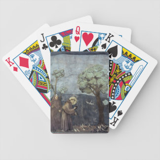 Giotto: St. Francis Preaching to the Birds Bicycle Card Deck