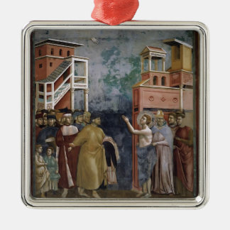 Giotto: St. Francis Renounces all Worldly Goods Christmas Tree Ornaments
