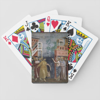 Giotto: St. Francis Renounces all Worldly Goods Bicycle Card Decks