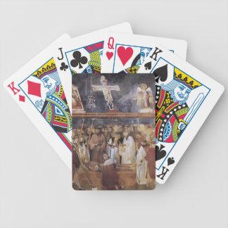 Giotto: St. Jerome Checking the Stigmata Card Decks