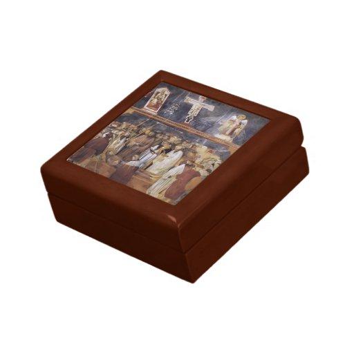 Giotto: St Jerome que comprueba los estigmas Caja De Joyas