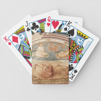 Giotto: St John on Patmos Playing Cards
