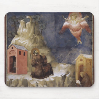 Giotto Stigmatization of St Francis Mouse Pad