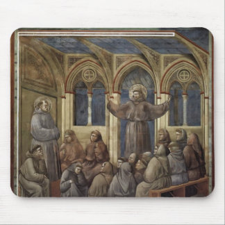 Giotto The Apparition at Chapter House at Arles Mousepads