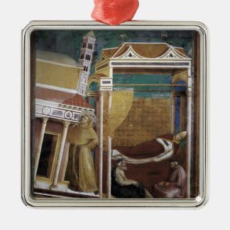 Giotto: The Dream of Innocent III Christmas Ornaments